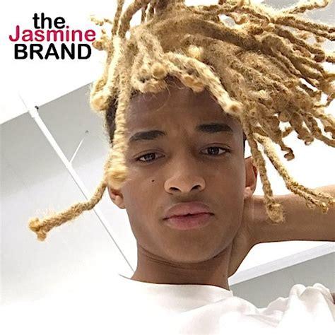 jaden smith chops blonde locks     smith