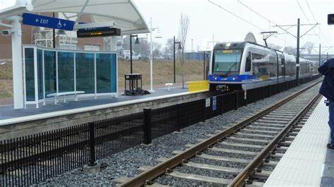 Blue Line Light Rail by Ride On The Blue Line Light Rail Extension Wfae