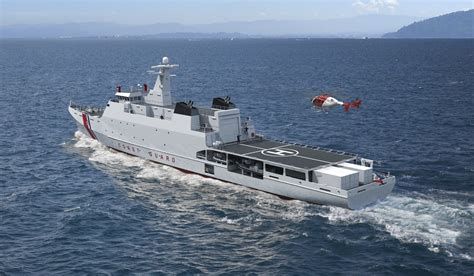 60 Crew Naval Patrol Vessel For Navies And Coastguards Tasks
