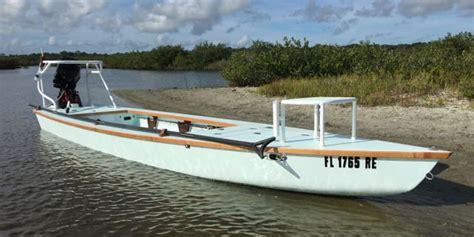 Canoe Flats Boat by Bateau Our Flats Fishing Skiff Range