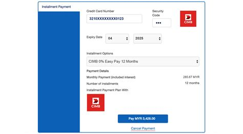 An installment plan gives you the flexibility to put the unexpected cost on your credit card at a low rate. Instalment