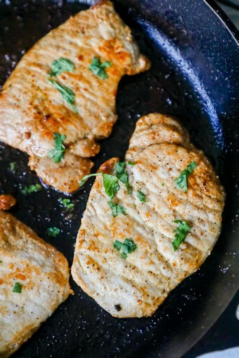 The following pork chops recipe provides the foundation for cooking the most perfectly 4 side dish ideas for pork chops. The Best Pan Fried Pork Chops Recipe - Sweet Cs Designs