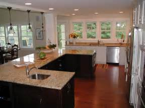 gallery for gt small u shaped kitchen with island