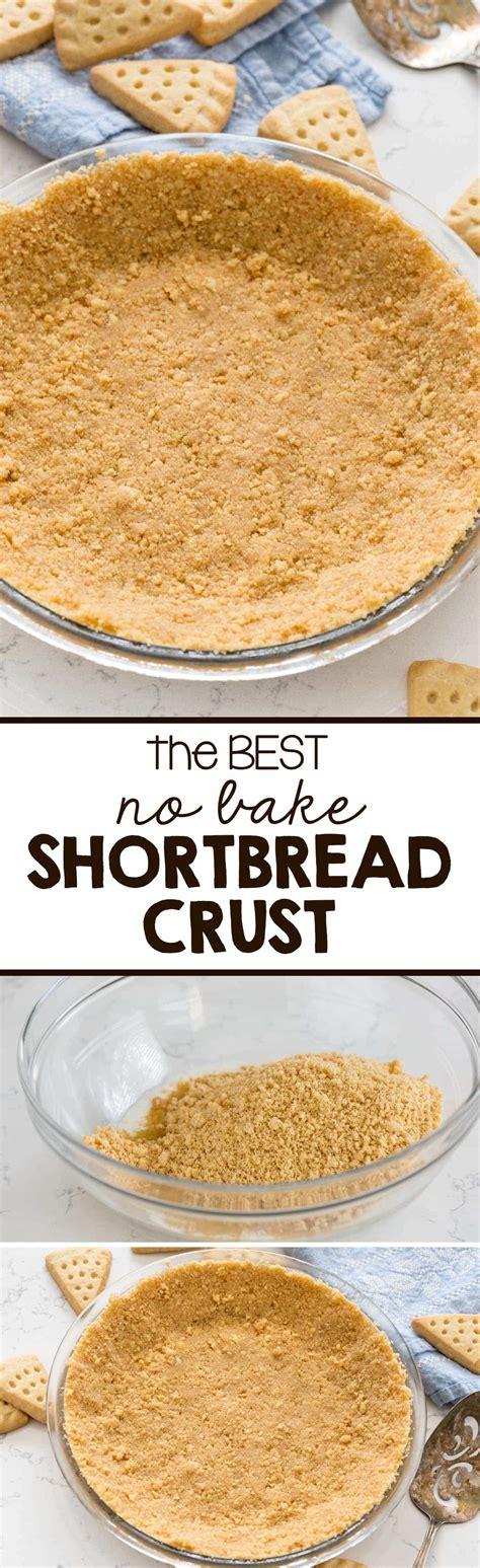 shortbread crust recipe bake pie cookie easy recipes cookies crusts perfect tart cheesecake