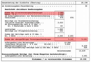 Steuer Auf Rente Berechnen : steuerbescheid pr fen seite 2 von 2 ~ Themetempest.com Abrechnung