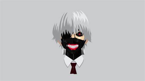 Anime Vector Wallpaper - anime tokyo ghoul kaneki ken vector minimalism