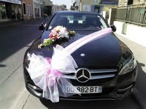 fleuriste decoration voiture mariage d 233 coration de voitures pour mariage plan de cuques fleurs