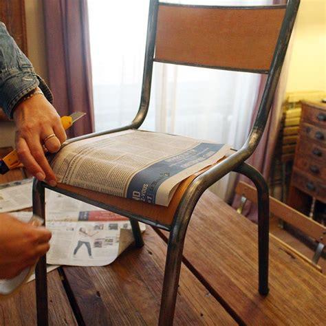 comment recouvrir des chaises r 233 nover une chaise d 233 colier