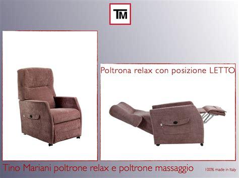 Nuova Poltrona Relax Con