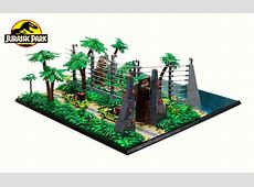 A Jurassic sized collaboration – Jurassic Park Films LEGO