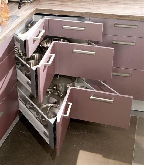 accessoire tiroir cuisine casseroliers et tiroir d 39 angle accessoires astucieux