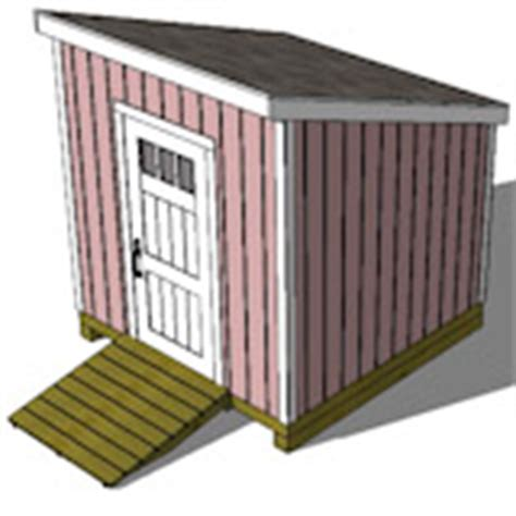 lean to shed plans 8x8 free shed plans storage shed plans