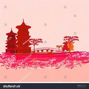 Vector Illustration Of Abstract Styled Decorative ...