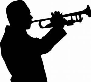 Clipart - Trumpet Player