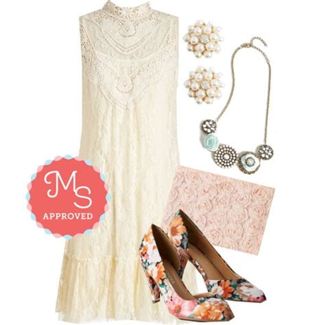 outfit  frill    dress bouquet