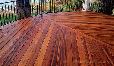 rustic wood trim wood decking materials advantage hardwood decking benefits