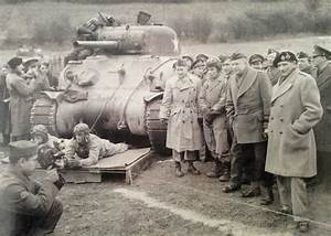 Wwii Photo General Eisenhower And Montgomery In England
