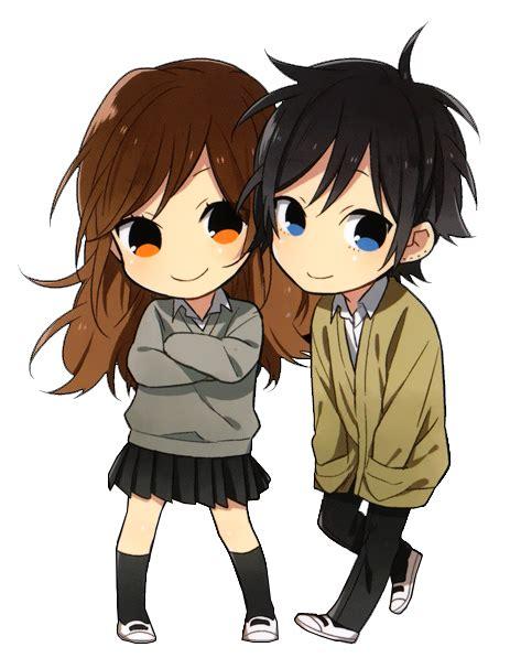 anime couple cute chibi chibi couple cute horimiya 3 pinterest chibi