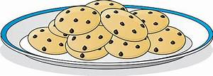 Chocolate Chip Cookie Clip Art, Vector Images ...