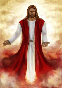 Jesus Christ by Ayeri on DeviantArt Start and end your day ...