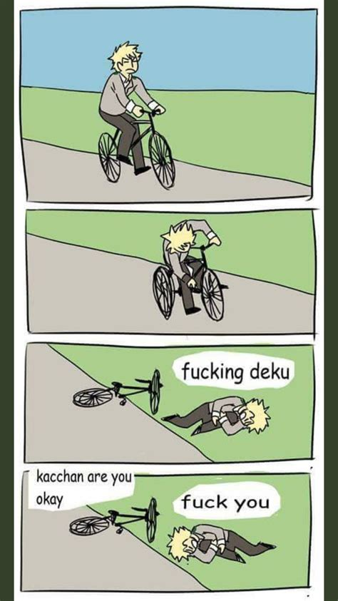 bicycle stick meme template 15 times my hero academia made tumblr even quirkier