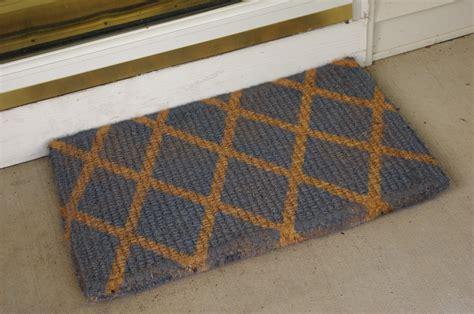 design doormat front door mats as a guest greeting tool amaza design