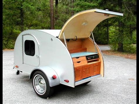 teardrop camping   open road  tiny trailer youtube
