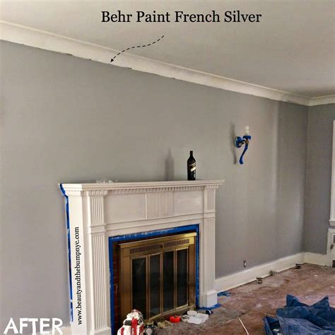behr french silver gym colour   home