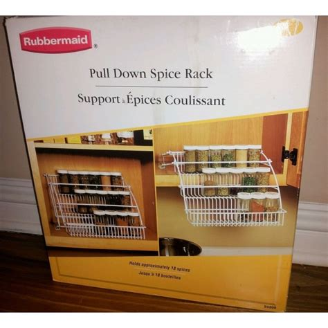 Pull Spice Rack By Rubbermaid by Geekshive Rubbermaid Pull Spice Rack Black Spice