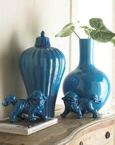 turquoise glass vases  horchow