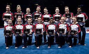 USA Gymnastics | Women's Olympic Team on the cover of ...