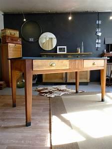 Table D Appoint Cuisine : table de cuisine ancienne style bistrot meubles et ~ Melissatoandfro.com Idées de Décoration