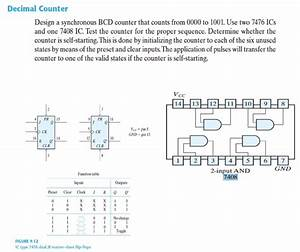 Solved  Ripple Counter Construct A Four