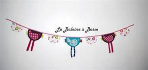 Guirlande Fanion Tissu : guirlande fanions et poulettes multicolore la baleine bosse ~ Teatrodelosmanantiales.com Idées de Décoration