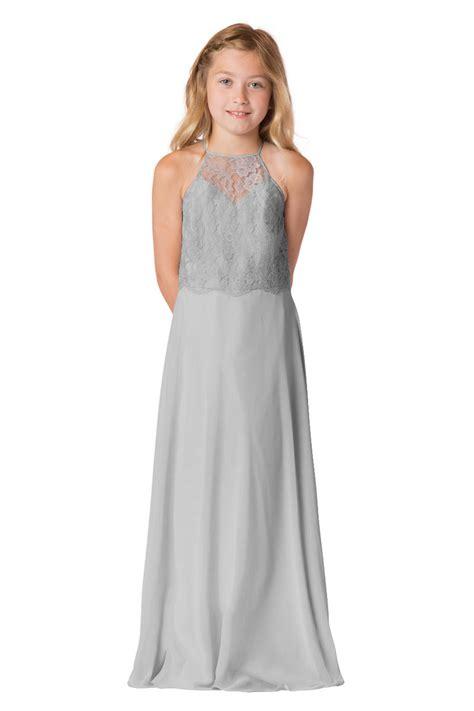 bari jay jr lace junior bridesmaid dress french novelty