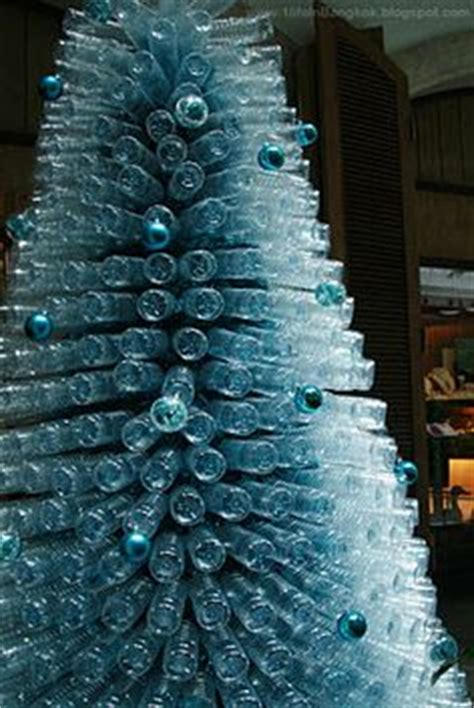 Christmas Tree Waterer 2 Liter Bottle by 18 Clever Christmas Trees Created With Recycled Materials