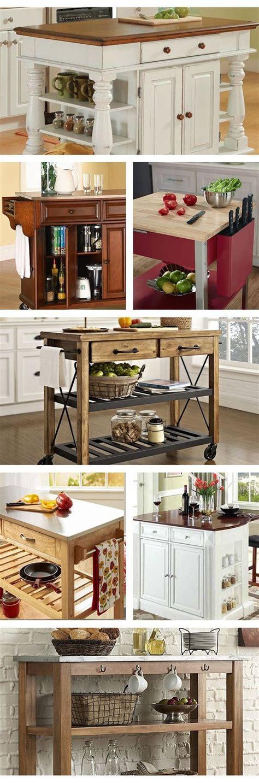 small portable kitchen islands best 25 portable kitchen island ideas on