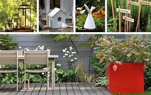 Déco De Jardin : jardin deco objet de decoration pour le jardin maison email ~ Melissatoandfro.com Idées de Décoration