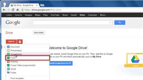 google docs questionnaire