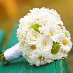 Daisy Day Bridal Bouquet - Daisy Day Bridal Bouquet Add a