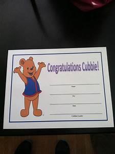 Preschool Graduation Certificate Our Awana Cubbies Certificate This Year My Husband
