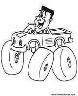 Coloring Truck Monster Driver Jam 4x4 Motorista Carro Rc Monstertruck Trucks Christmas Clip Sheet Finest Desenho Transport Template Outline Ausmalbilder sketch template