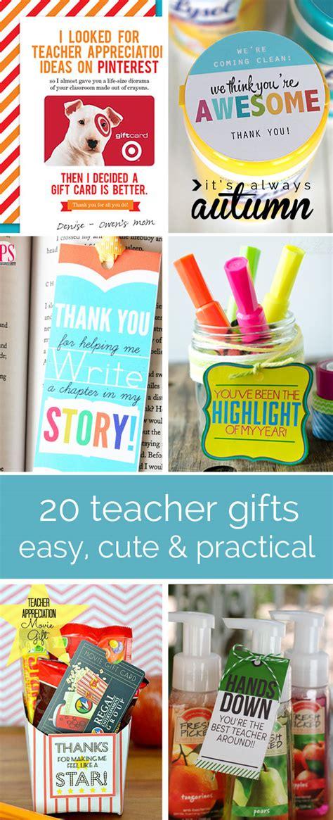 15+ Teacher Appreciation Ideas  The Crafting Chicks