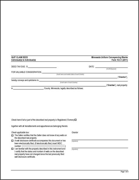 printable quit claim deed forms form resume