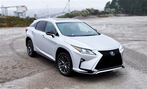 2015 Lexus Rx 350 F Sport Awd For First Drive Videos 2016 Lexus Rx350 And Rx450h F Sport