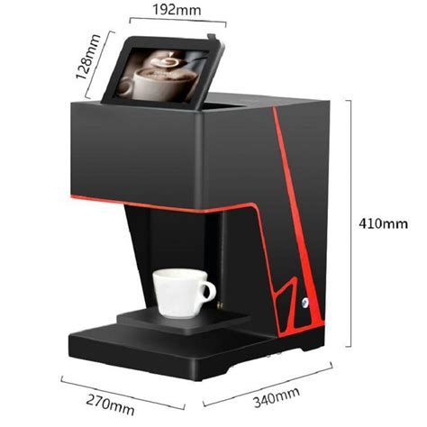 Besides good quality brands, you'll also find plenty of discounts when you shop for 3d coffee printer during big sales. 2018 Portable Digital 3d Selfie Coffee Printer Machine Small Automatic Edible Ink Printing ...
