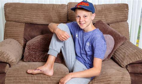 horror holiday shoe saves scottish boy   shark attack