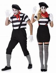 Kostüm Pantomime Damen : pantomimen kost m set f r paare schwarz weiss rot g nstige faschings kost me bei karneval ~ Frokenaadalensverden.com Haus und Dekorationen