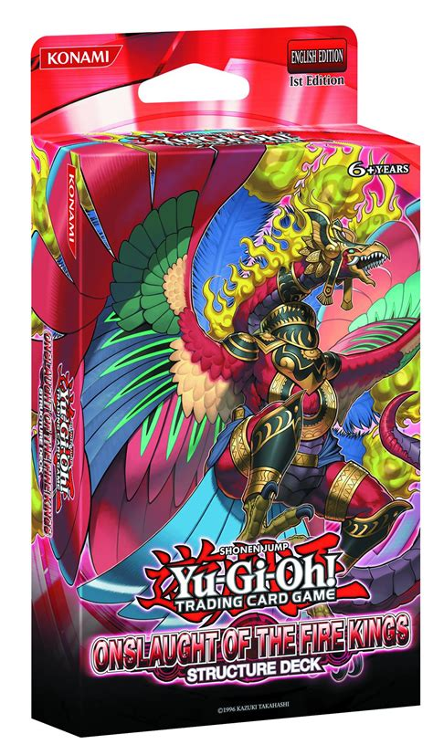 Onslaught Of The Fire Kings Structure Deck Yugioh