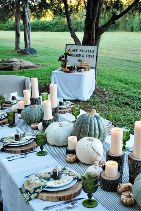 Celebrate Autumn Dinner by Introducing Tuesday S Tablescape Fresh Fall